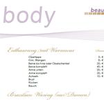 Preisliste-Body
